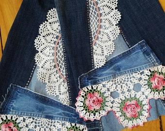 Bell Bottoms Jeans Custom Made