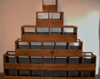 Antique stackable store display