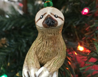 Sloth Ornament or Figurine