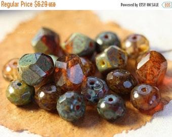 10% off PRAIRIE MIX .. 25 Picasso Czech Glass Bead Mix (4124-st)