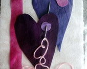 Valentine's Day | Fabric Art Post Card Kit