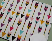 Buy 2 FREE SHIPPING Special!!   Mouse Pad, Fabric Mousepad    Bohemian Arrows