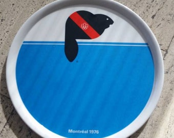 Montreal Olympic plate, 1976