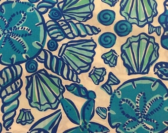 Lilly Pulitzer Shorely Blue Sailors Valentine   - Do Not Purchase, please read listing details