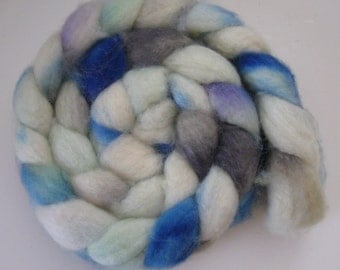 Magical Wisp- Superwash BFL Wool Roving (Top) - Handpainted Spinning or Felting Fiber - 4.5  ounces