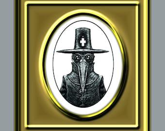 plague doctor mask pattern pdf