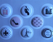 Chanel Inspired French Flair Buttons-YOU CHOOSE STYLE