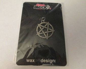 Star Pentagram Horror Pendant Jewelry Making Craft Supplies Jenuine Crafts
