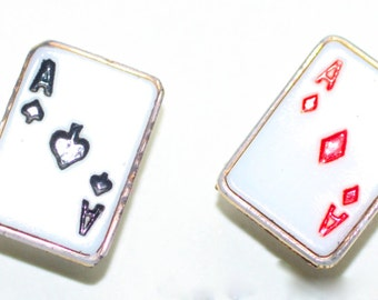 Buttons ~ Glass Realistic Set of Cards - Smalls