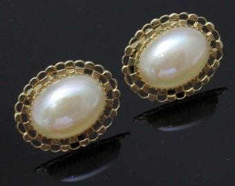 Vintage Pearl Cufflinks Anson Jewelry M7426