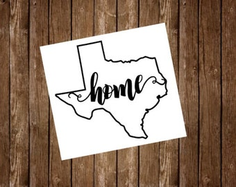 Yeti Tumbler Decal, Texas Decal, Yeti Monogram, Yeti Decal, Texas Sticker, Yeti Cup Decal, Custom Yeti Decal