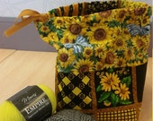 Reversible Sock Knitting Bag