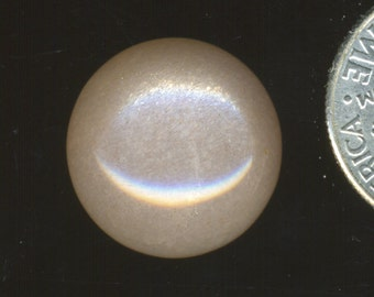 PEACH MOONSTONE AAA grade One 15mm Round Cabochon
