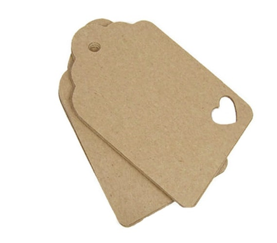 kraft paper tags The kraft paper tags are perfect if you want to write on it or to decorate your own paper tag the kraft tags are looking very natural and are easy to match with our other wrapping products we have these tags in three different sizes for you.