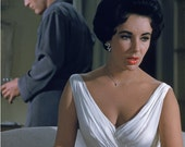 Elizabeth Taylor Maggie Dress from Cat on a Hot Tin Roof Wiggle Dress... Bombshell Dress... Old Hollywood...Sheer Elegance...