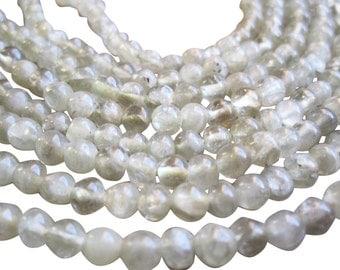 Prehnite Beads, Prehnite Round Beads. Smooth Round Beads, SKU 1506A