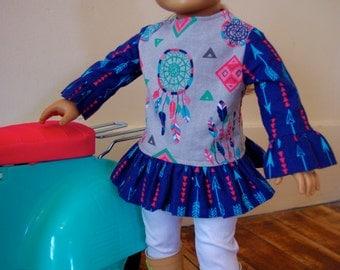 "18"" Doll Tunic"