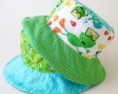 Reversible baby sun hat, ...