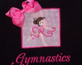 Gymnastics Tote Bag  Name can be Added