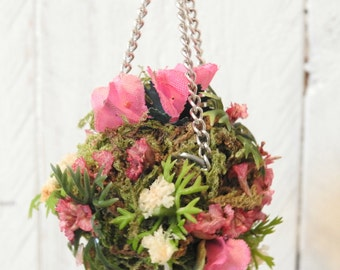Doll House Hanging Plant