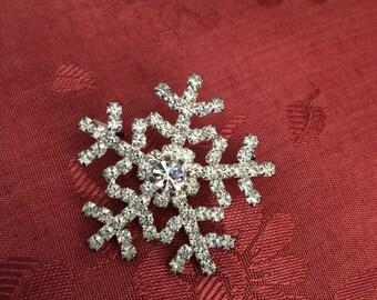 Eisenberg Ice Snowflake Pin