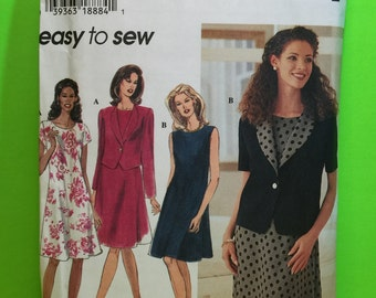 Women's Simplicity 7117 Easy To Sew Pattern Size Z 20, 22, 24