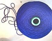 SALE!Mercerized Cotton/Mouzakis Butterfly Cotton dk wt/Cotton Classic/Kertzer Super 10/Cone/Lapis Blue dk wt/Navy Blue Mercerized Cotton dk