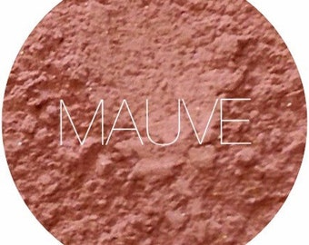 Mauve Mineral Blush  • Natural Mineral Makeup • Vegan and Gluten Free Makeup • Earth Mineral Cosmetics