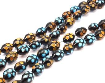 10 Organic Handmade Egypt Kuka Beads G001