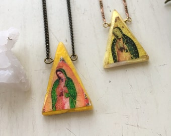 Divine Mary Necklace