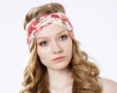 FREE SHIPPING- 5 Women's Headbands- Boho Headband- Turban Headband- Ear Warmer- Gift For Her- Stocking Stuffer- Headband For Women- Adult