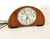 Sessions Mantel Clock- Vintage Art Deco-Stylish Mid Century Decor-Vintage Home Decor-Cyber Monday Sale
