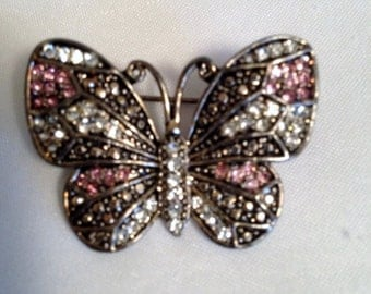 Sparkle Butterfly Pin