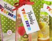 Cute Teacher Appreciation Tag   Thanks Teacher  Add to Gifts