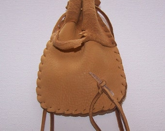 Leather Medicine Bag...DUSK