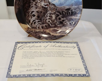 The Snow Leopard, Last Of Their Kind, The Endangered Species Collection 1989