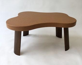 Coffee Table Table -  Mid Century Modern Cork Amoeba - Paul Frankl Repop