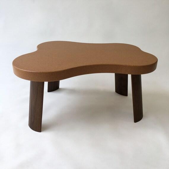 Coffee Table Table Mid Century Modern Cork Amoeba Paul