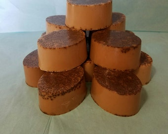 Chocolate Luxury Soap   6 count