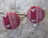 Beautiful hairpins Valetines day hair accessory, Heart hair pins, bobby pins