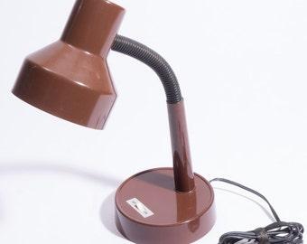 Retro Brown Desk Lamp