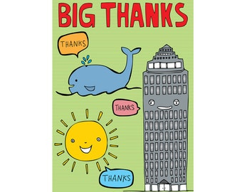Thank You Card - Big Thanks