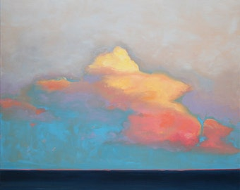 GICLEE Fine Art Reproduction by Daina Scarola on fine art paper - Sunset Over Baja