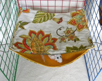 RAT SAC Rectangle Over/ Under med - Autumn Floral