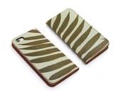 Leather iPhone 6 case, iPhone 6s Case, iPhone 6s Plus Case - Minimal Fern (Exclusive Range)