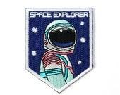 MINI Space Explorer Iron On Patch