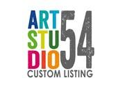Custom Listing - Monogram Wall Decal - Vinyl Wall Sticker Decal -  White, Black, Red, Orange, Blue, Green, Gold, Silver - artstudio54