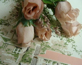Absolutely Stunning Vintage Roses Stems