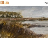 Outer Banks, North Carolina, Coastal, Ochre, Umber, Zorn Palette, Original Painting by Clair Hartmann