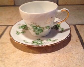 35th Anniversary China Cup and Saucer Set